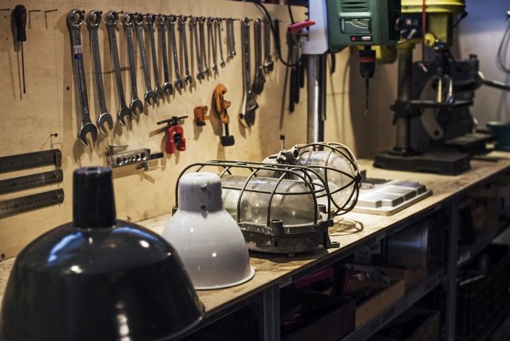 Лампы Vintage Industrial от Matt Szaplonczai