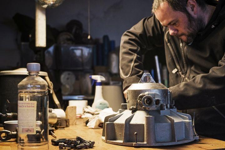 Работа над лампой Vintage Industrial от Matt Szaplonczai