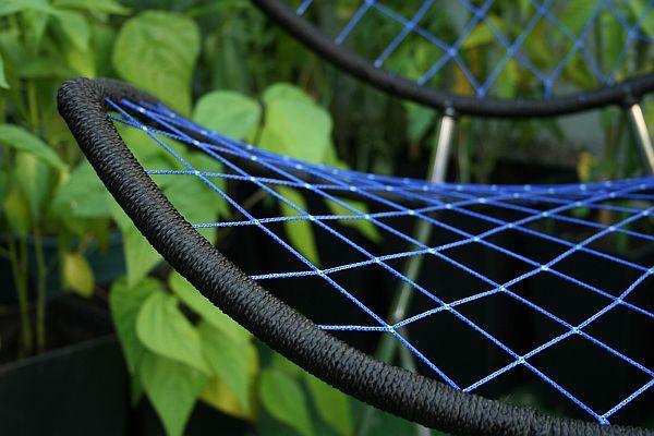 Плетение сиденья дизайнерского стула