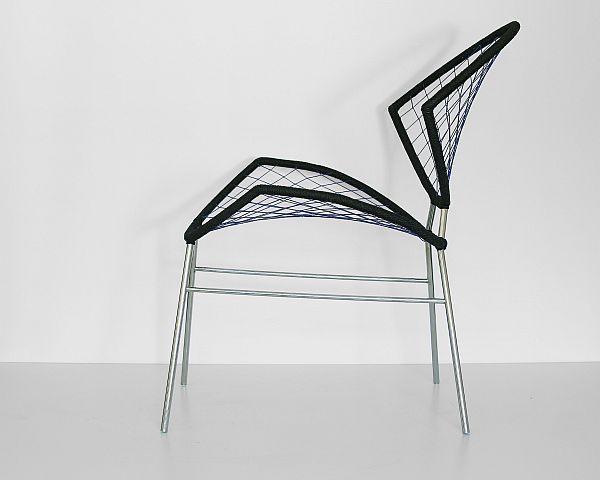 Прекрасный стул - вид сбоку