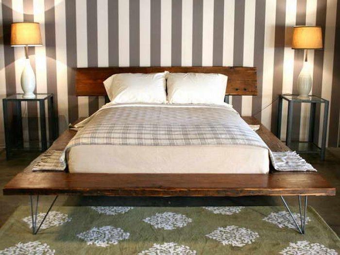 Интересный декор спальной, что станет особенностью в любом доме, квартире.