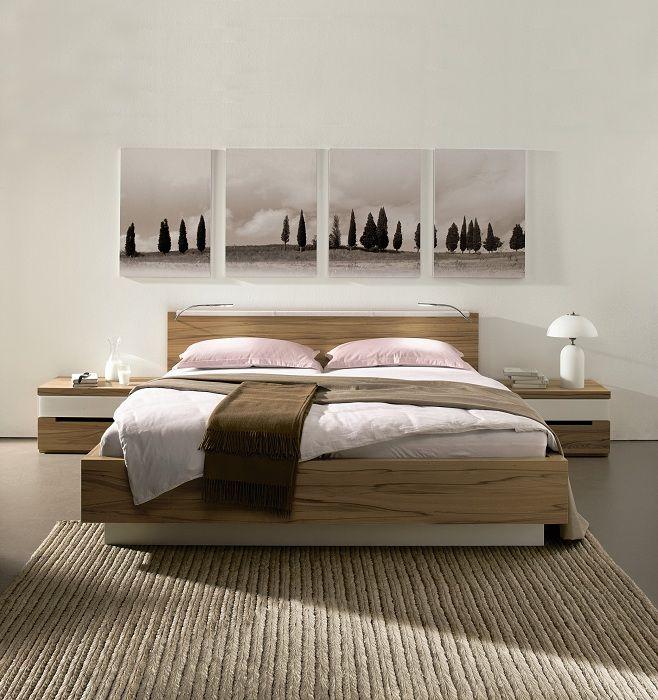 Отменное решение создать дополнительный уют с помощью оптимальной организации жилплощади с кроватью на платформе.