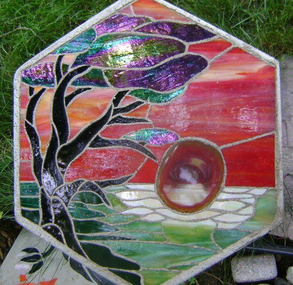 Peinture de table arc-en-ciel