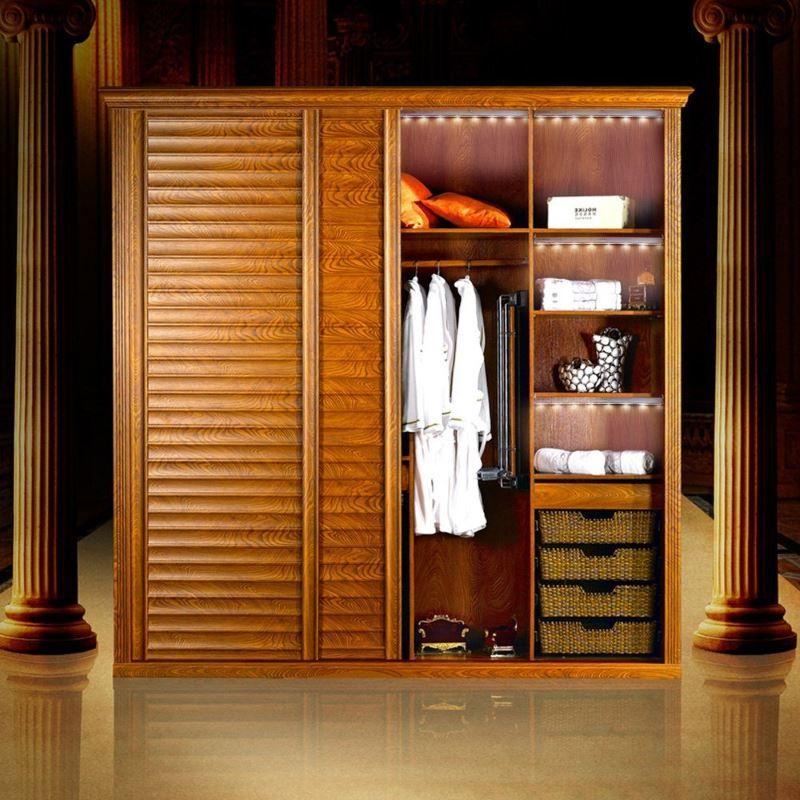 Дизайн гардеробной с организацией освещения KEDSUM