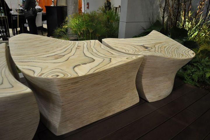 Елементи на прекрасна бетонна пейка