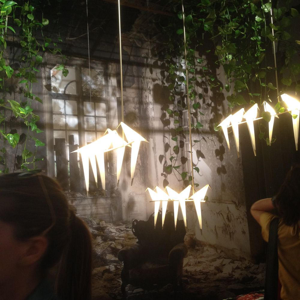 Птицы на ветке: коллекция светильников Perch Light от Умута Ямака