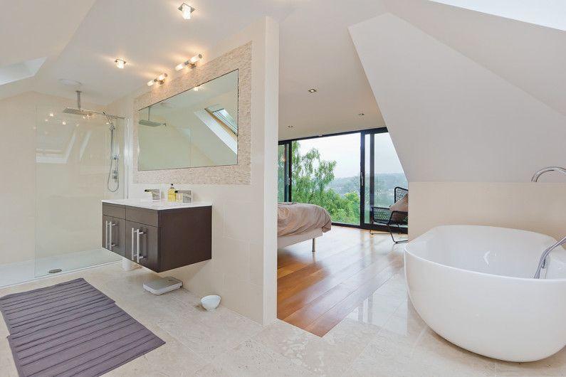 nykyaikainen kylpyhuoneen
