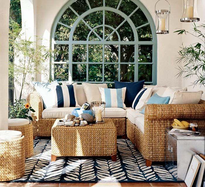 Плетени мебели за всекидневна
