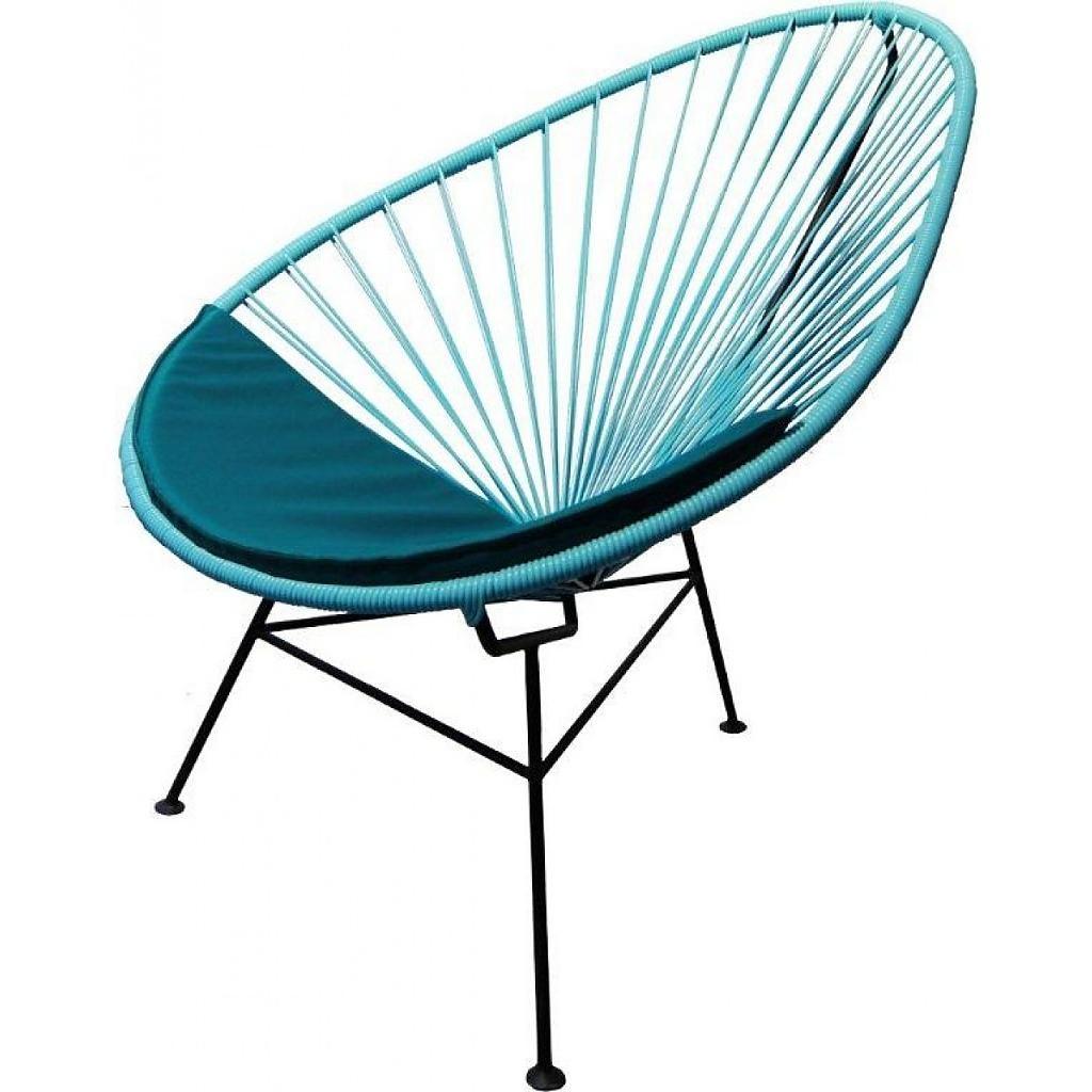 Acapulco blå stol