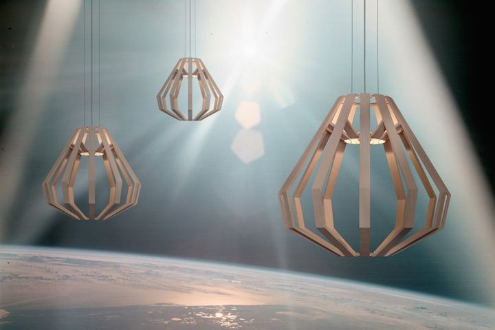 Подвесные лампы Apollo 8 CM от Gaёl Wuithier