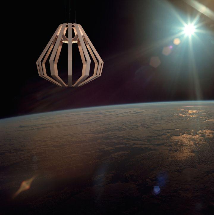 Креативная подвесная лампа Apollo 8 CM от Gaёl Wuithier