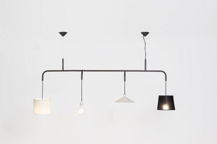 Необычный подвесной светильник Vialattea