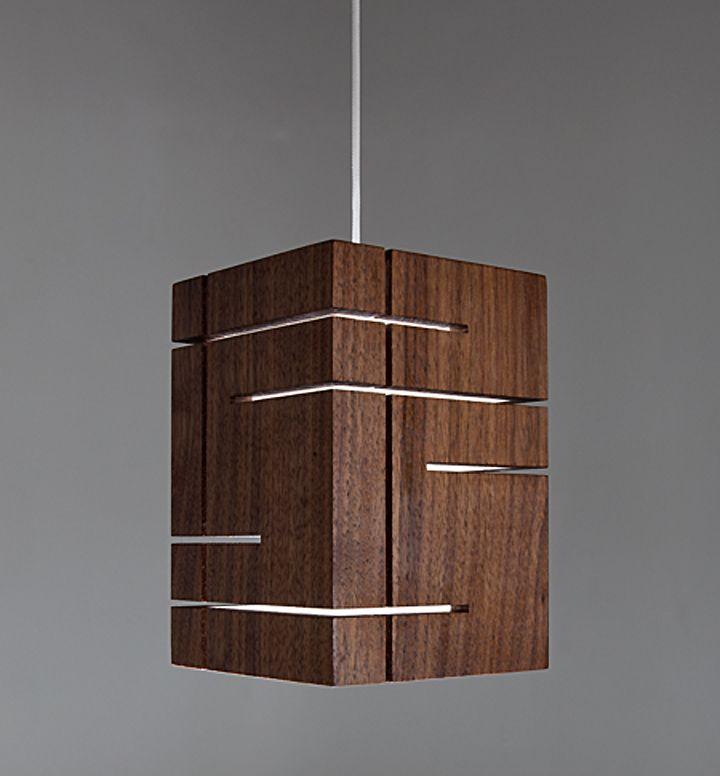 Квадратная форма светильника Claudo от Cerno