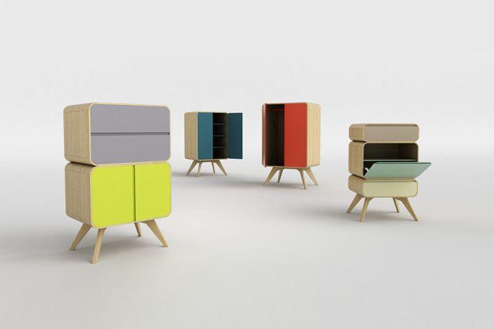 Чудесные шкафчики с различных ракурсов