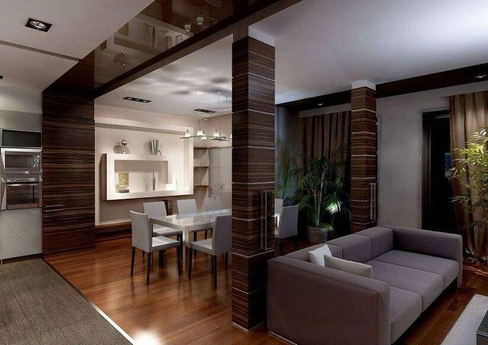 Стилните шоколадови тонове в интериорния дизайн просто ще бъдат оптимално и ярко решение за декор.