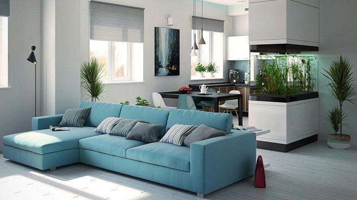 Хубава и много актуална декорация на стаи, за да ги съчетаете, което ще създаде интересен интериор.