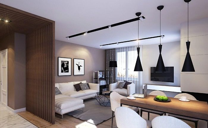 Нестандартен, но много приятен дизайн на пространството, като го декорирате в пастелни цветове.