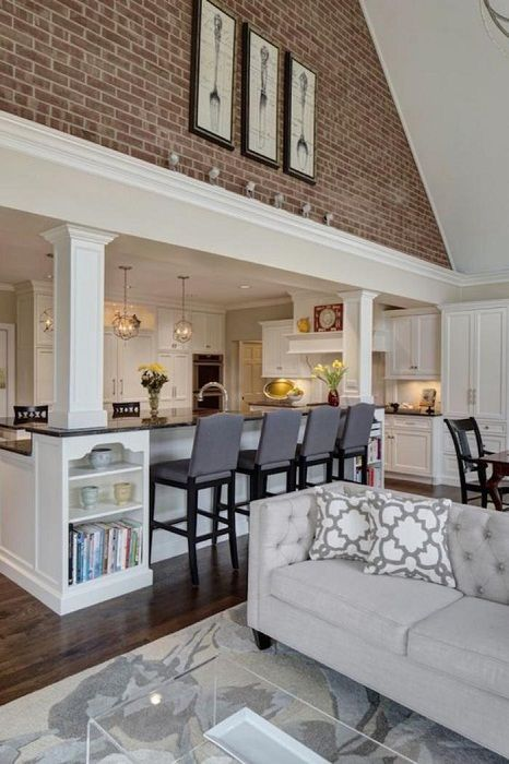 Един от най-добрите варианти е да комбинирате две стаи в една, а именно хол с трапезария.