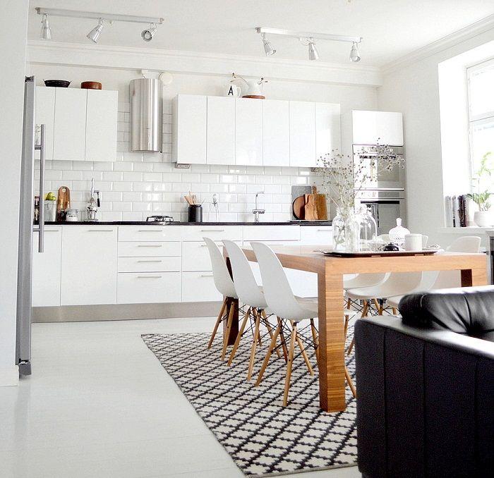 Хубав вариант за създаване на готин дизайн и страхотно настроение в апартамента, като комбинирате стаи.