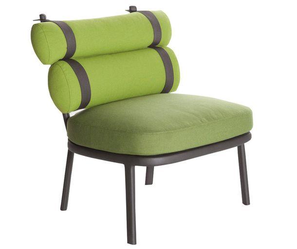 Зелёное кресло Roll