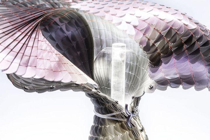 Удивительный по структуре и форме материал