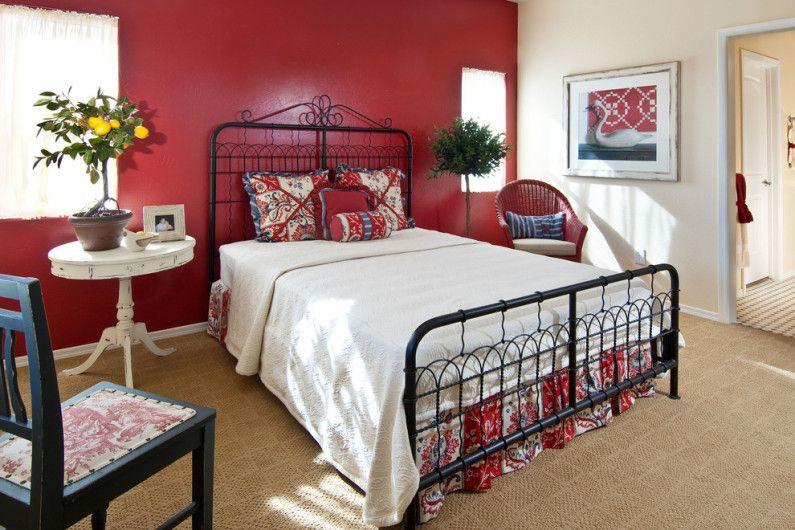 рустикален спалня