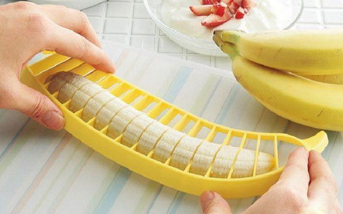 En hendig bananskive som ganske enkelt vil bli den beste hjelperen på kjøkkenet.