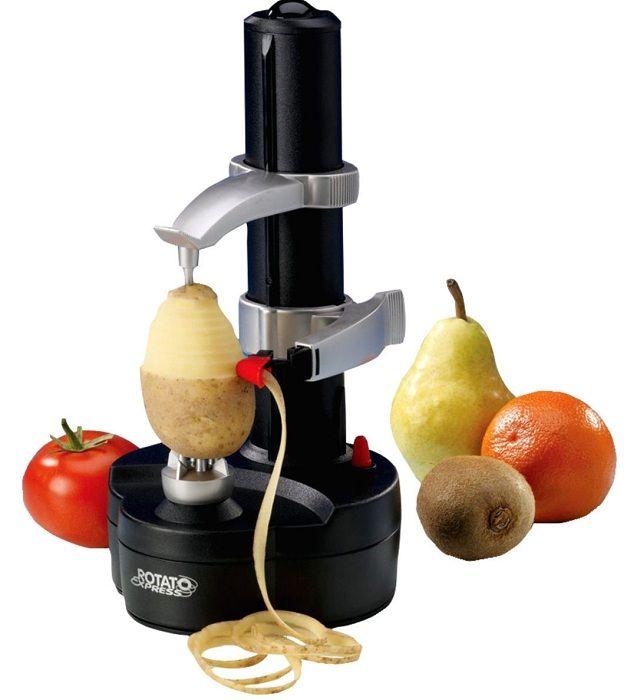 En praktisk oppfinnelse for kjøkkenet som lar deg raskt skjære og skrelle grønnsaker og frukt.