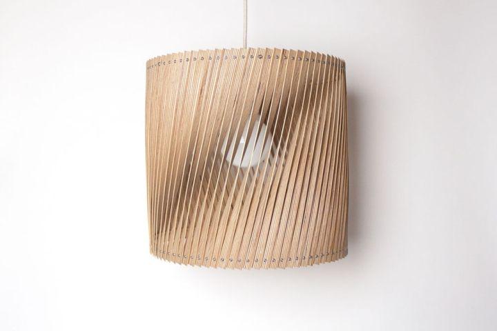 Красивый плетенный светильник Upcycle от Benjamin Spoth
