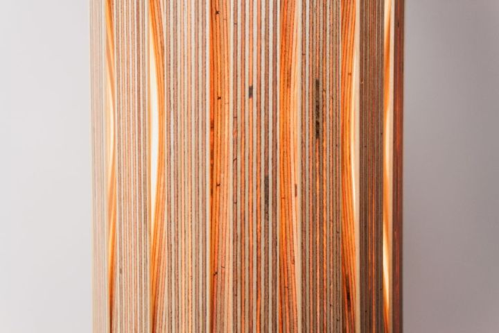 Изумительный плетенный светильник Upcycle от Benjamin Spoth