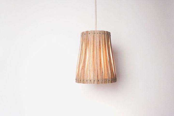 Красочный плетенный светильник Upcycle от Benjamin Spoth