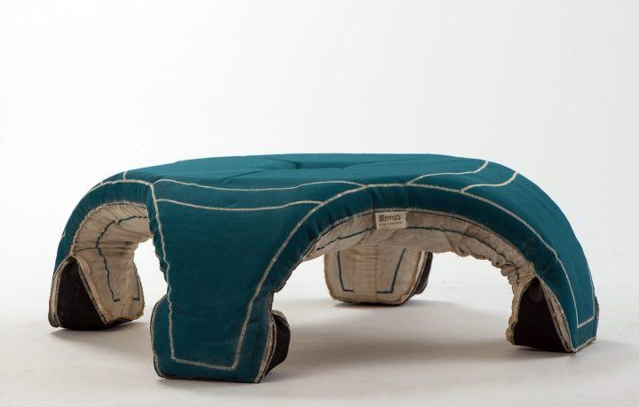 Креативный стол для сада