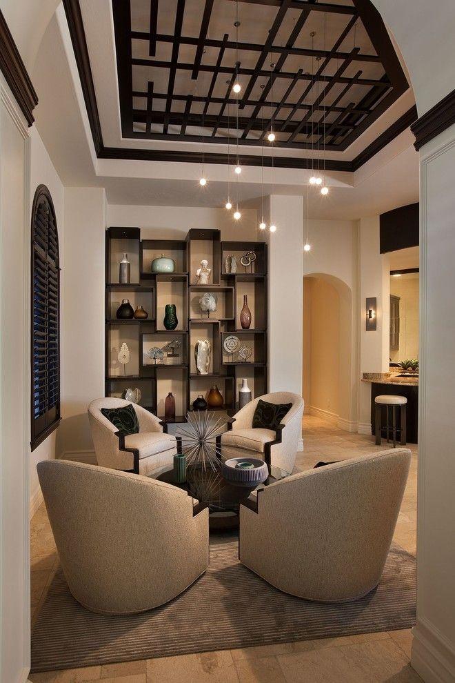 Светильники LBL в интерьере гостиной