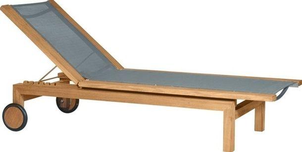 Trestolstol med stoffunderlag
