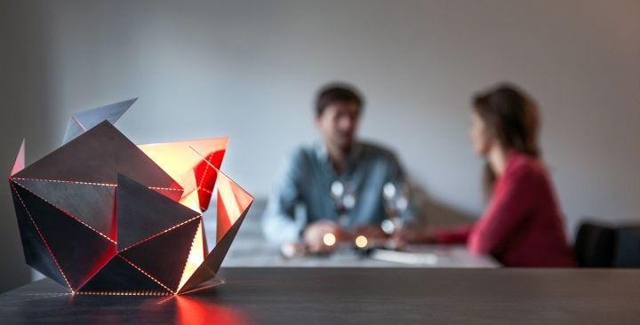 Дизайнерская складная лампа