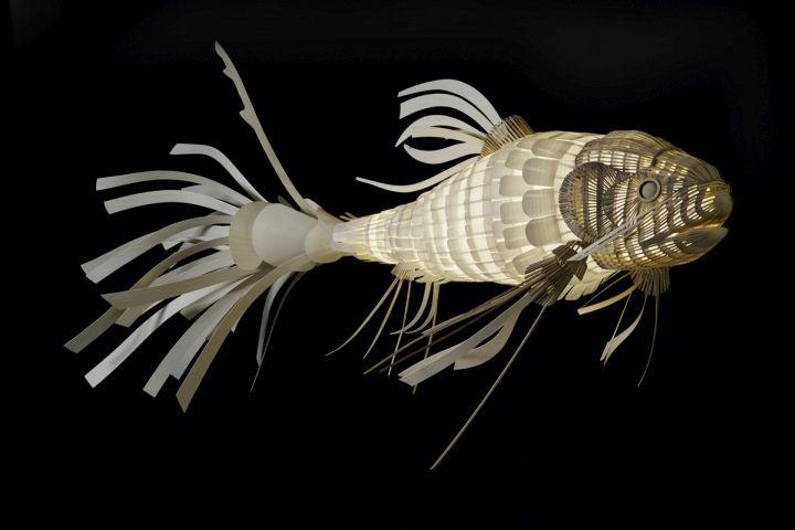 Красивая лампа Koi Fish от LZF Lamps