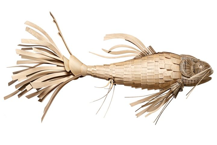 Уникальная лампа Koi Fish от LZF Lamps
