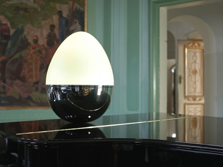 Креативный светильник в виде яйца-неваляшки от Isabel Heubl