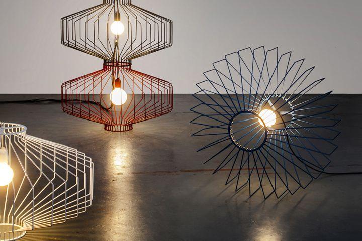 Современные дизайнерские светильники Sketch от Studio Beam