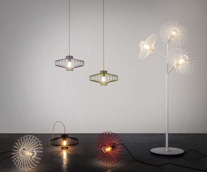 Разновидности лампы Sketch от Studio Beam