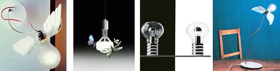 Современные дизайнерские светильники в коллекции ламп Der Lichtpoet от Ingo Maurer