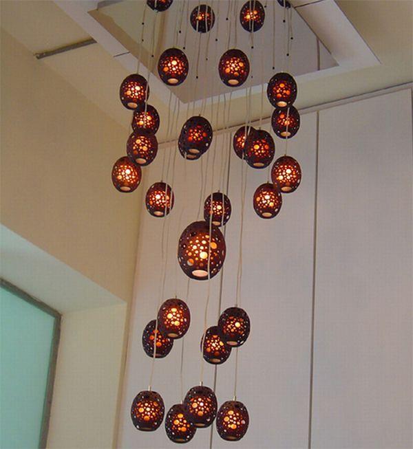 Оригинальные подвесные светильники
