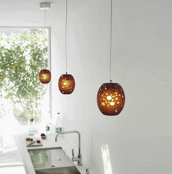 Уникальные подвесные светильники