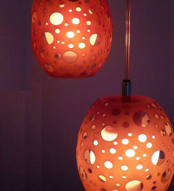 Креативные подвесные светильники