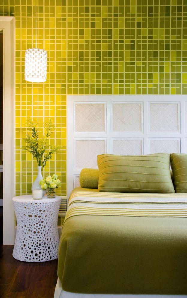 Белоснежный светильник в интерьеер от Amy Lau Design