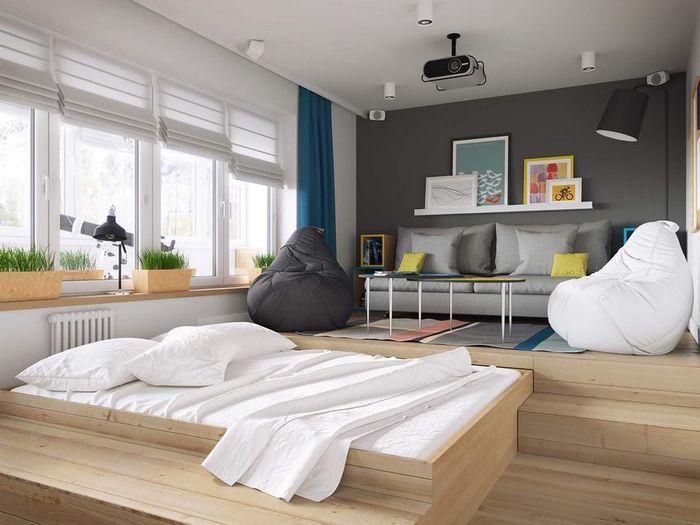 Спално място в малък размер: максимална функционалност и комфорт