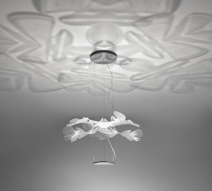 Подвесной светильник из стекла
