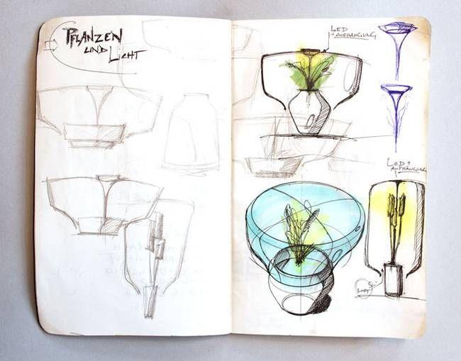 Дизайнерские стеклянные светильники от Nui - Фото 1