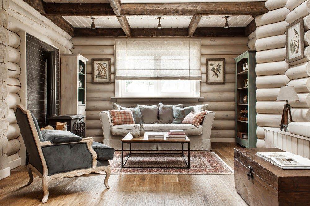 Красивая мягкая мебель в интерьере гостиной
