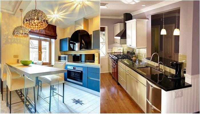 Примери за модерни кухненски дизайни, които ще вдъхновят.